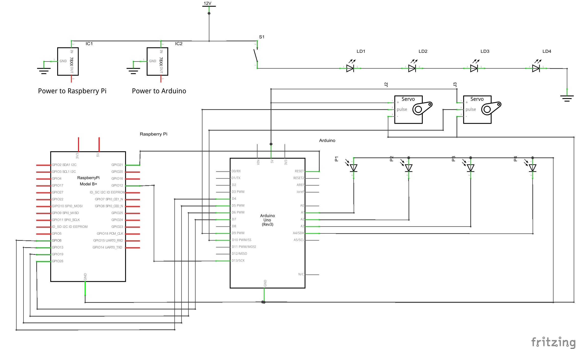laser wiring diagram