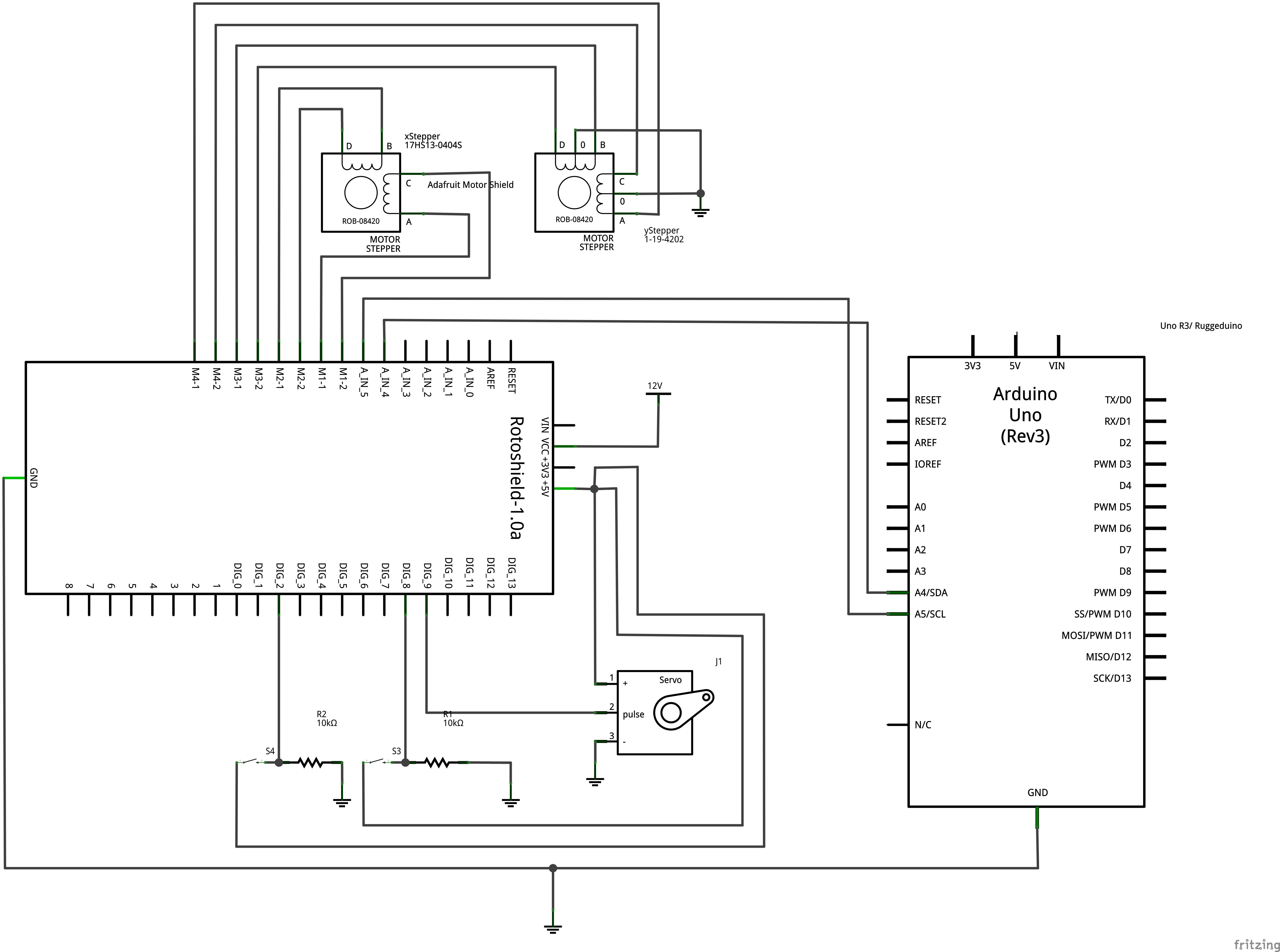 Cnc m ms electrical and software