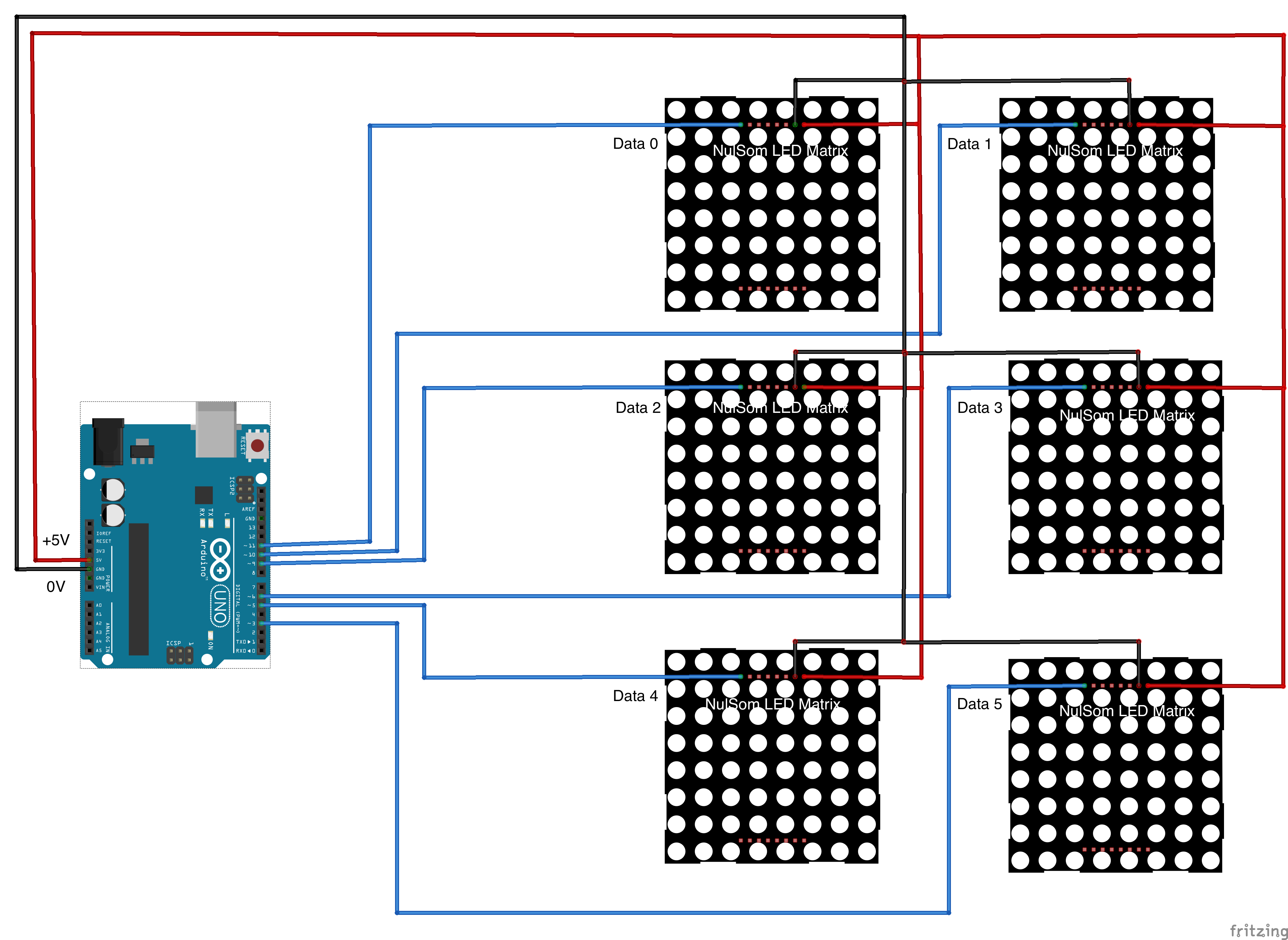 Cubelite Led Project Circuit Diagram We Decided To Use Nulsom Matrices For The Faces Of Our Cube Using These Pre Made Not Only Allowed Us Focus On Aspects
